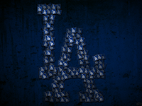 Los Angeles Dodgers Wallpaper Post Its